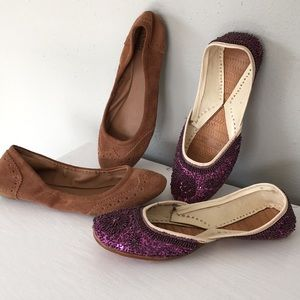 Slip on shoe combo